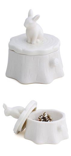 Bunny jewelry box