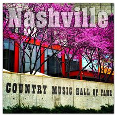 Nashville Photo Magnets - Country Music Hall of Fame