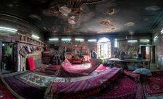 Teppichladen in der Stadt Shiraz: Der iranische Fotograf Mohammad Reza Domiri...