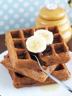 Honey Oatmeal Waffles (Gluten-Free) | The Breakfast Drama Queen