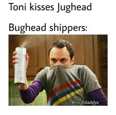 Honestly though I don't hate Toni like the rest of the Bughead shippers, but I just don't ship Juggy and Tony Memes Riverdale, Watch Riverdale, Bughead Riverdale, Riverdale Archie, Riverdale Funny, Funny Quotes, Funny Memes, Hilarious, Jokes
