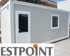 Containere birou produse Estpoint, containere birou pentru spatii rapide de birouri sau dormitoare, containere maritime si containere depozitare din stoc.