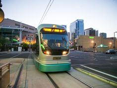 The Phoenix, Arizona light rail system runs for 20 miles through Phoenix, Tempe and Mesa, servicing 33 stations. It opened in 2008 and cost $1.4 billion to build, and in 2014 it reached its 2020 ridership goal of 48,000 people a day, roughly 22,000 more than expected. Proponents say the rail has generated about $7 billion in economic investment. Click image for details and visit the slowottawa.ca boards >> http://www.pinterest.com/slowottawa/boards/