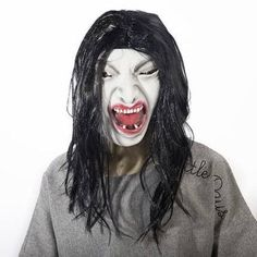 Halloween Latex Mask Slipknot Mask Joey Purge Scary Mask Cosplay for Masquerade Party Decoration Props Clown Ghost Horror Skull