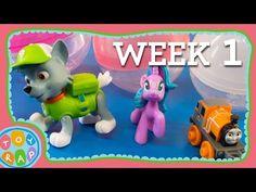 WEEK 1: ToyRap Gashapon Surprise! Vending Machine Surprise Eggs Paw Patrol My Little Pony Minecraft - YouTube