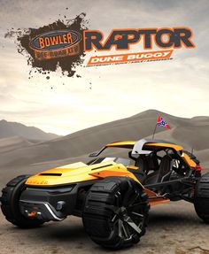Bowler Raptor Vehicle Design is Powered by Lithium-Titanate Batteries – Elevate E Quad, Kart Cross, Chevy, Colani, Sand Rail, Terrain Vehicle, Jeep Cars, Buggy, Futuristic Cars