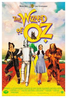 The Wizard of Oz  Home Theater Decor  Movie Musical by jangoArts, $19.50
