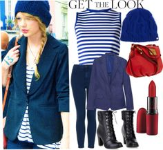 """""""Get The Look - Taylor Swift"""" by bballmae23m on Polyvore"""