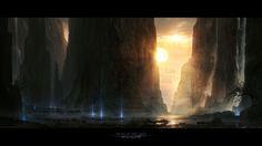 Valley of Last Light by DylanPierpont.deviantart.com on @deviantART