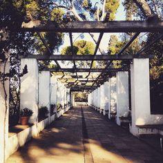 Jardins de Laribal   #Barcelona #Montjuic