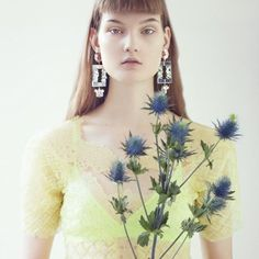 Kirsi Pyrhonen by Lowe Seger for Rika #8 S/S 2013.