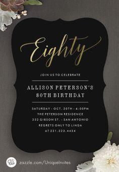 80th Birthday Invitations                                                                                                                                                     More                                                                                                                                                                                 More
