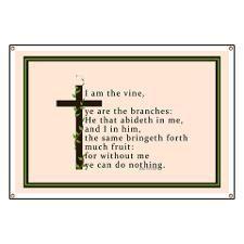 john banner   john 15 5 king james bible verse banner