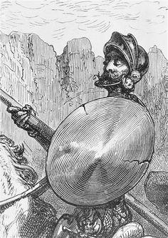 Réunion des Musées Nationaux-Grand Palais -Illustration de Don Quichotte  Doré Gustave (1833-1883) (d'après) Pisan Héliodore Joseph (1822-1890)  Paris, Bibliothèque nationale de France (BnF)