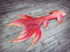 A silicone mermaid tail made by Finfolk. (Photo: Finfolk Productions) Want to Be a Mermaid? This Spanish Swim School's Got Your Tail Finfolk Mermaid Tails, Real Mermaid Tails, Mermaid Tails For Sale, Realistic Mermaid Tails, Mermaid Swim Tail, Fin Fun Mermaid, Silicone Mermaid Tails, Siren Mermaid, Mermaid Swimming