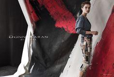Publication: Donna Karan Spring/Summer 2015 Model: Andreea Diaconu Photographer: Peter Lindbergh