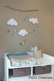Changing table space in shades of blue and brown.