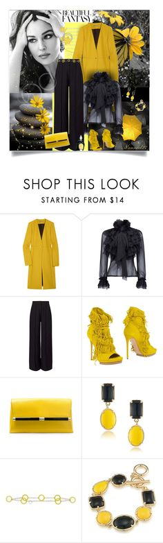 """""""All becomes clear..."""" by nannerl27forever ❤ liked on Polyvore featuring Heath Ceramics, The Row, WithChic, Miss Selfridge, Casadei, Diane Von Furstenberg, 1st & Gorgeous by Carolee, Fisico and Lalique"""