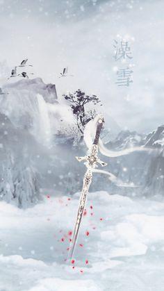 Dark Fantasy Art, Fantasy Artwork, Fantasy Sword, Fantasy Weapons, Sword Drawing, Sword Art, Armas Ninja, Sword Design, Background Drawing
