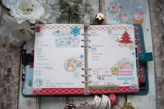 Creative Pages by amaryllis775: Filofaxing / Winterbirthday und Setup
