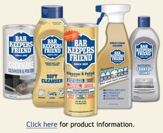 This stuff works wonders on hard to clean glass shower doors! Especially hard water stains! Bar Keepers Friend | Cleaning Products     | Household Cleaning Supplies