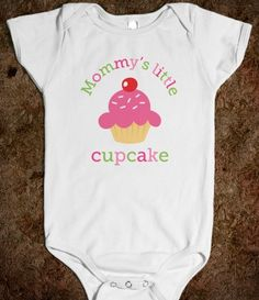 Mommy's little cupcake cute baby jumpsuit