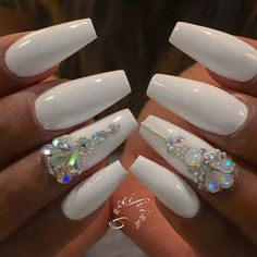 Amazing Designs For Coffin Nail Shape picture 1