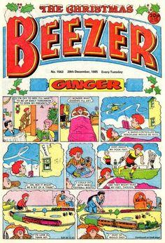 The Beezer (Volume) - Comic Vine Retro Toys, 70s Toys, Comic Art, Comic Books, Christmas Comics, Childhood Days, Days Of Our Lives, Classic Tv, Pulp Fiction
