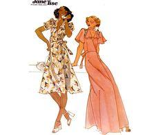 1970s Jane Tise Wrap Disco Dress Vintage by allthepreciousthings, $16.00