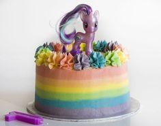 Tarta Arcoiris My Little Pony | https://lomejordelaweb.es/ | https://lomejordelaweb.es/