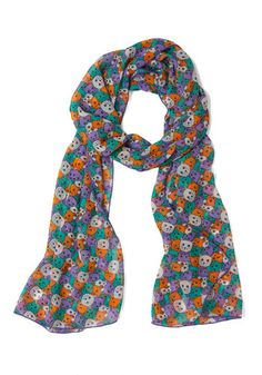 @Lindsey Johnson we need this: Meow or Never Scarf, #ModCloth
