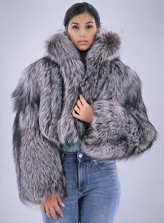 Bolero Jacket, Fur Jacket, Fur Fashion, Womens Fashion, Fabulous Fox, Fox Fur Coat, Winter Wear, Jackets, How To Wear