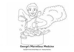 10 best George's marvellous medicine images on Pinterest