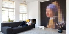 Пиксель-арт в интерьере – Вдохновение