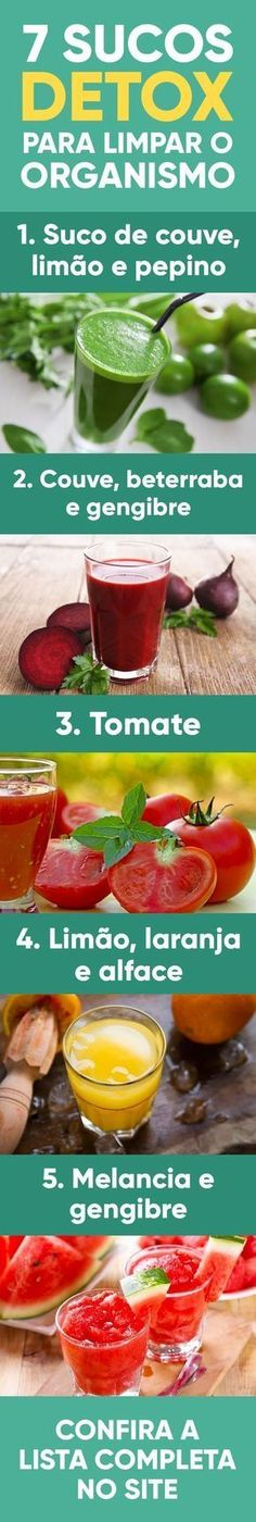 Detox Diet To Lose Weight & Cleanse Body - Resouri Bebidas Detox, Menu Dieta, Ginger Benefits, Bodybuilding Motivation, Fitness Workouts, Detox Drinks, Detox Juices, Healthy Life, Vitamins