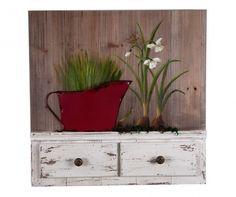 Flower Pot Fali dekoráció