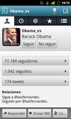.@Obama_es, un tipo interesante, que me sigue en Twitter.