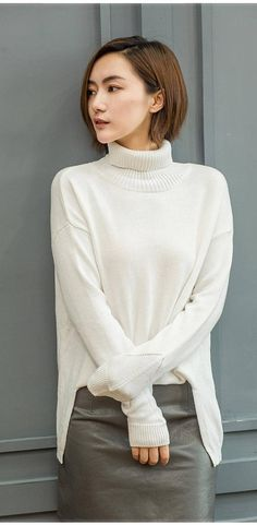 womens winter Cashmere sweaters and auntmun women knitted