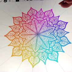 Doodle art 597149231828638455 - Source by inkgalaxyxd Mandala Doodle, Mandala Art Lesson, Doodle Art Drawing, Mandala Drawing, Art Drawings, Doodle Art Letters, Doodle Art Journals, Ipad Art, Mandala Design