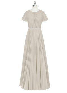 AZAZIE KARA. Kara is a floor-length modest bridesmaid dress in an A-line cut. # #Wedding #CustomDresses #AZAZIE