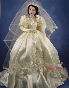 Rare Collectible Porcelain Dolls | Scarlett Porcelain Dolls : All Gone With the Wind Collectibles-rare ...
