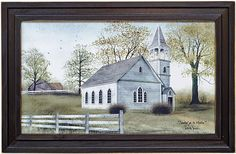 Sunday Go to Meetin' Framed Print - Kruenpeeper Creek Country Gifts