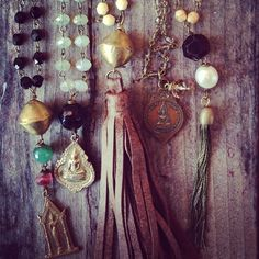 temples, buddhas and tassels, just a few of the pieces that await you at www.litanyjewelry.com, find one you love or let us help you #custom design one!
