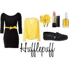 Hufflepuff - I love the yellow!