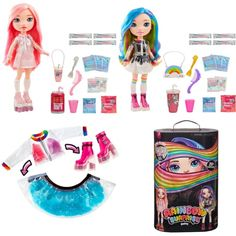 New Rainbow Surprise Poopsie Fashion Dolls with DIY Slime Fashion from MGA Lol Dolls, Barbie Dolls, Toys For Girls, Kids Toys, Monster High, Unicorn Surprise, Harry Potter Dolls, Blue Skye, Diy Slime