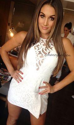 White laced dress ღ.x