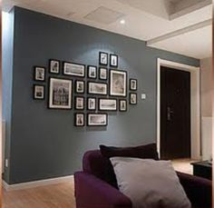 Photo frame wall
