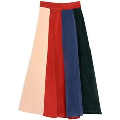 MAXI ANKLE-LENGTH SKIRT 2 COLORS SIZE ($70) ❤ liked on Polyvore featuring skirts, red skirt, floor length skirt, long skirts, long red maxi skirt and maxi skirts