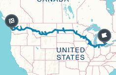U.S. Route 12 runs east–west across the northern United States, from from Detroit, MI to Aberdeen, WA. Nearly 2,500 miles in length, this cross-country route has been mostly surpassed by roadtrippers in favor of the I-90 and I-94 highways. But just because it's less popular doesn't mean it's less worth driving! Head off the beaten path to the best attractions along Route 12. U.S. Route 12 Road Trip Map