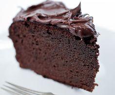 Gezonde glutenvrije & lactosevrije chocoladetaart